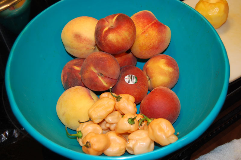Peach Jam With Apricots And Black Pepper Recipe — Dishmaps